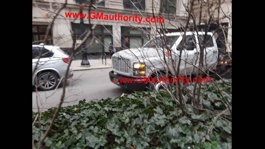 2019 Chevrolet Silverado Medium-Duty Truck Spy Photos