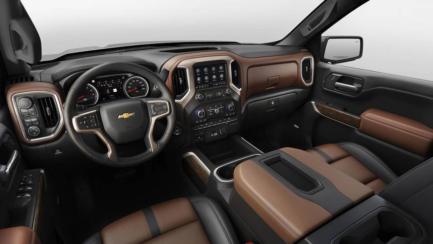 Gmc Trucks Sierra >> 2020 Chevrolet Silverado HD's Cabin Spied For First Time