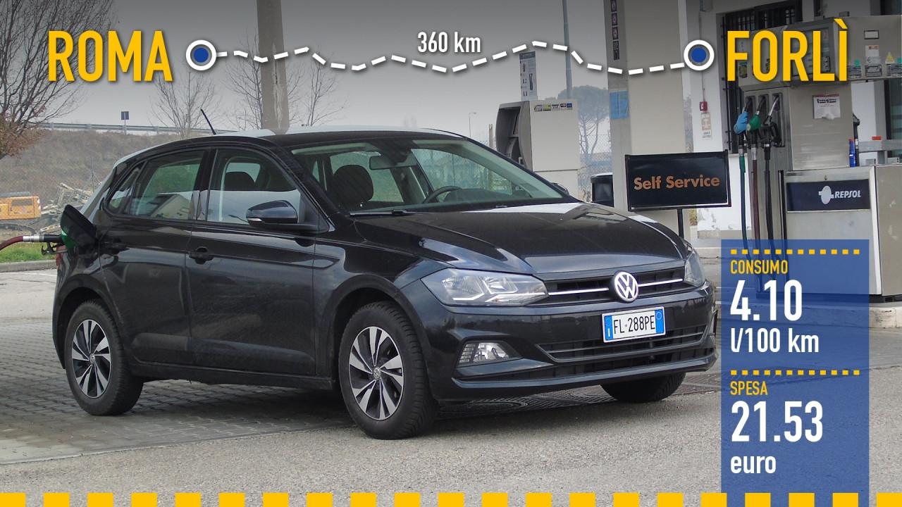 [Copertina] - Volkswagen Polo 1.0, la prova dei consumi reali