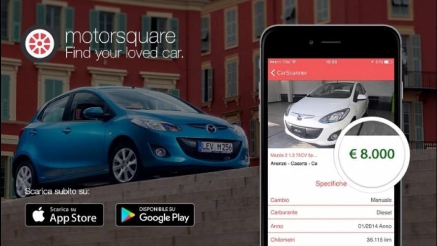 Motorsquare, l'app Made in Italy per trovare l'auto su misura