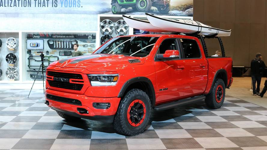 2019 Ram 1500 Shows Off Mopar Upgrades In Chicago