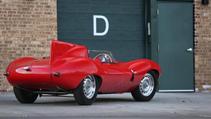 Subasta Jaguar D-Type 1956