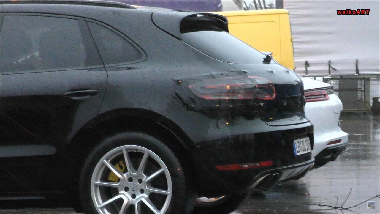 Porsche Macan Facelift Spy Shot
