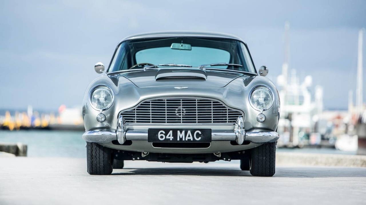 Ex-McCartney DB5 auctioned