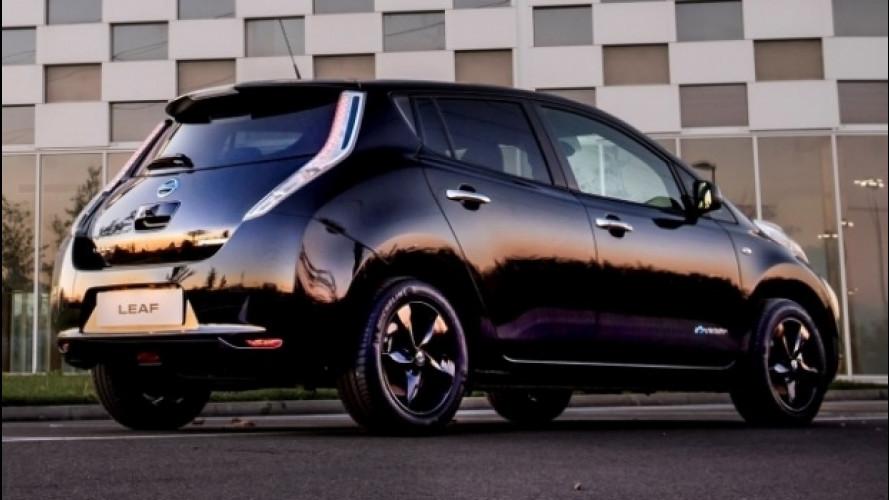 Nissan Leaf, ora è anche Black Edition