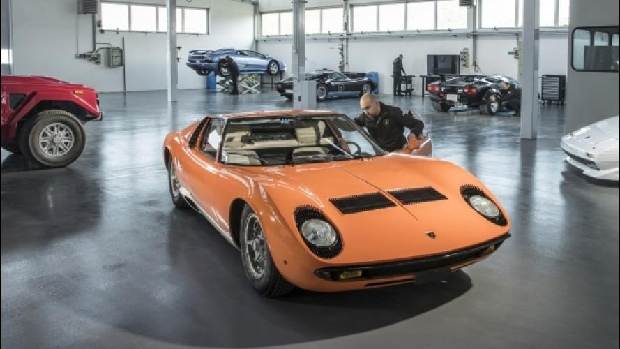 Lamborghini, inaugurato il nuovo PoloStorico