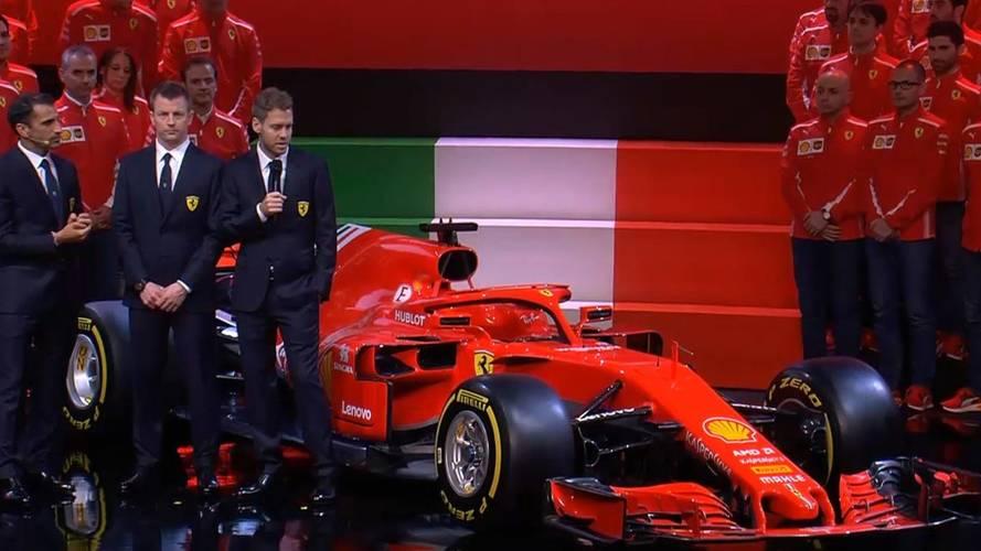 Ferrari Reveals Its 2018 F1 Car, The SF71H