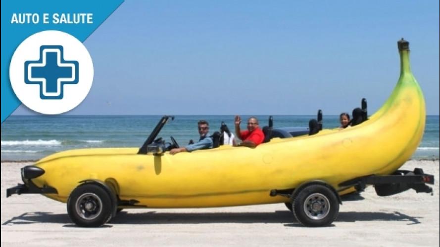 Viaggi d'estate, chi guida ha bisogno di più potassio