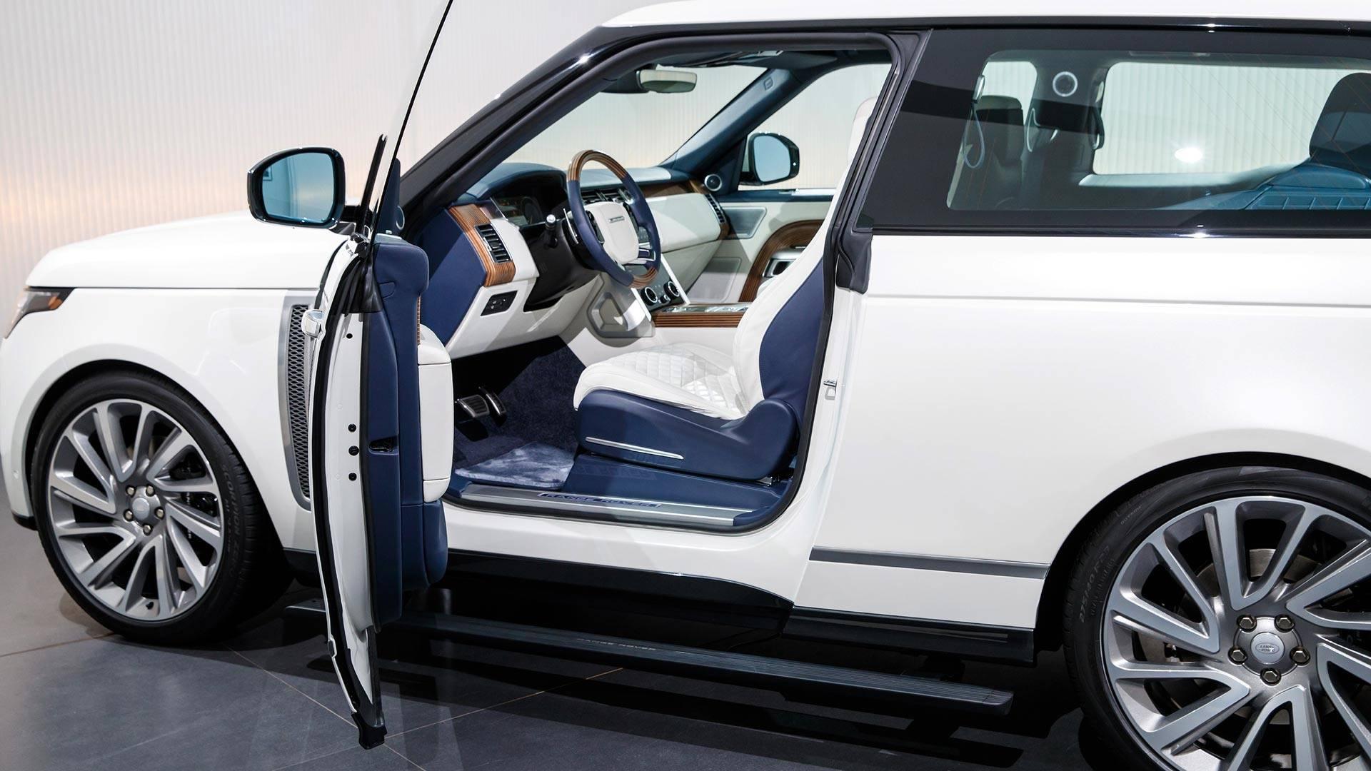 "[""2019 Land Rover Range Rover SV Coupe: Geneva 2018""]"