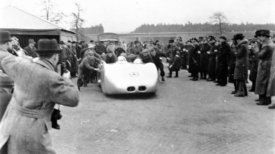 Mercedes W125 1938 Speed Record