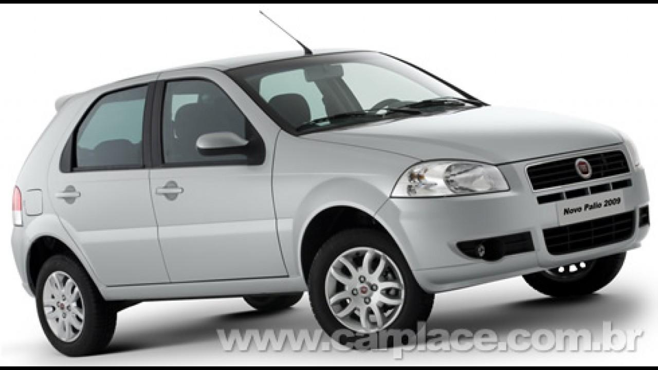 Novo Fiat Palio 2009 ganha direção hidráulica de série - Frente não muda