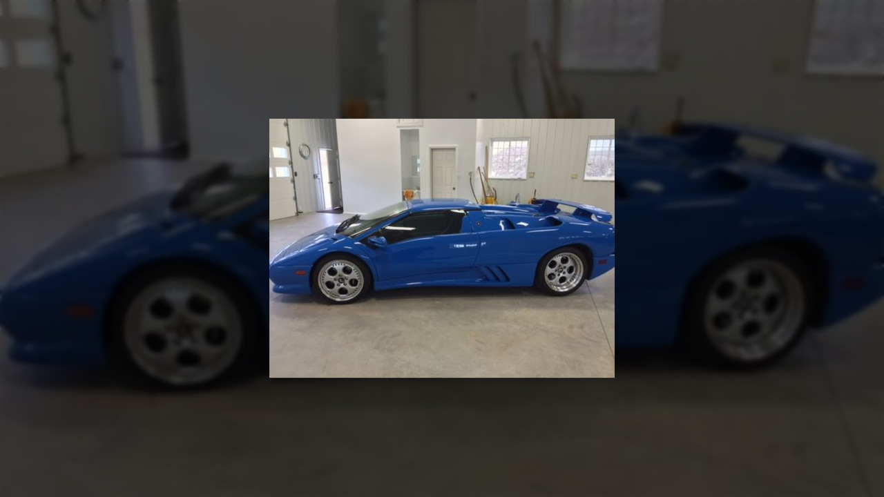Donald Trump 1997 Lamborghini Diablo Vt Roadster Motor1 Com Photos