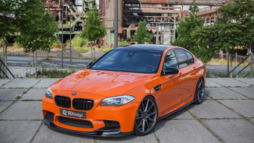 La BMW M5 par 3DDesign et Carbonfiber Dynamics
