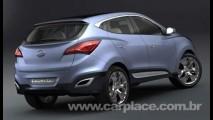 Novo Tucson: Conceito Hyundai HED-6 adianta visual da nova geração do utilitário