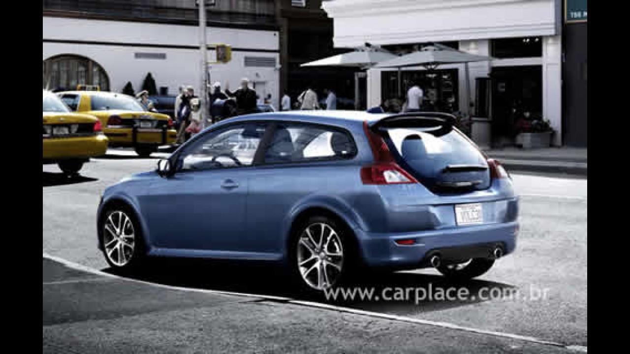 Volvo C30 pode ter uma versão de cinco portas