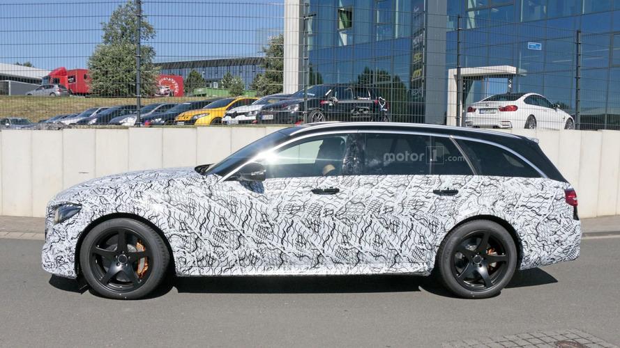 Daha güçlü Mercedes AMG E63 Estate görüntülendi