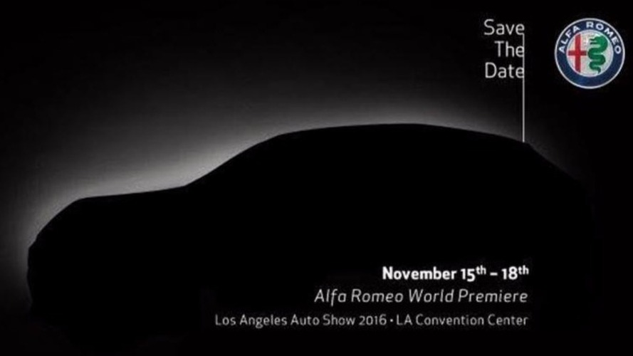 Alfa Romeo Stelvio Teaser