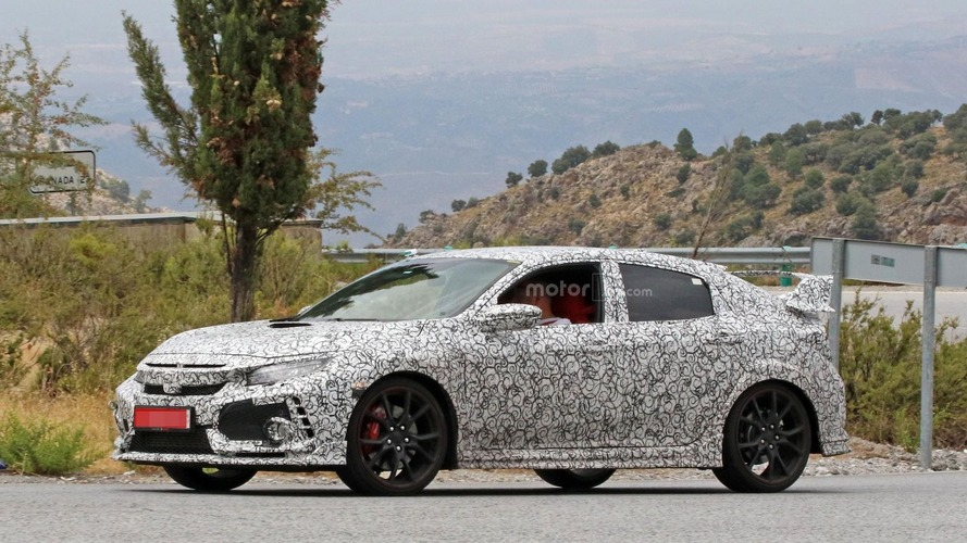 2018 Honda Civic Type R spy photos