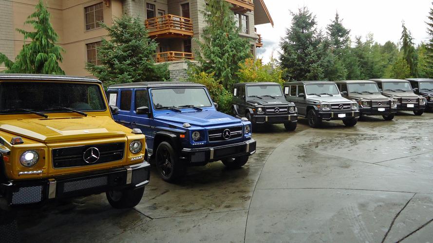 Továbbra is gyártásban marad a régi Mercedes-Benz G-osztály