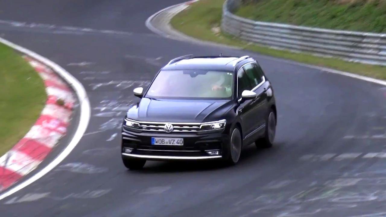 Possible VW Tiguan R prototype