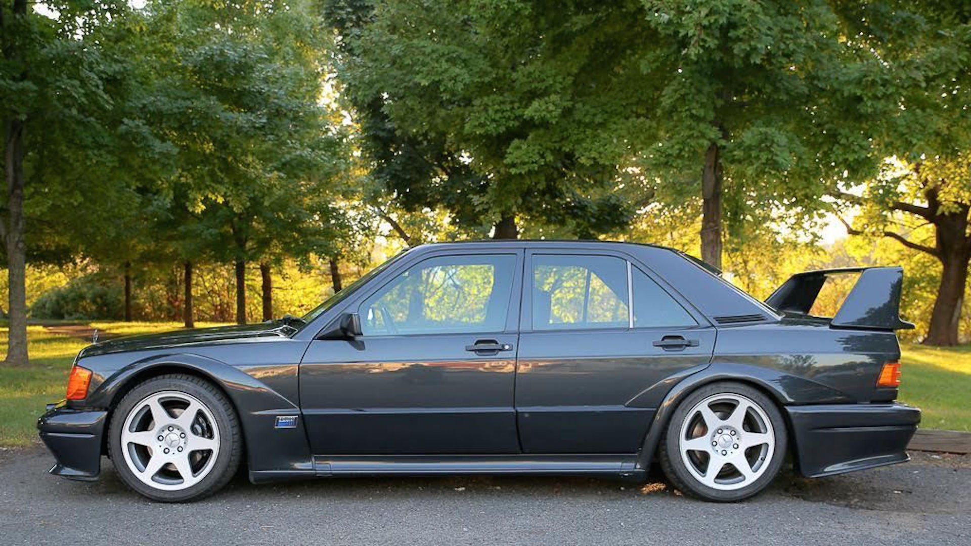1990 Mercedes Benz 190e Cosworth Evo Ii On Ebay With 29 000 Miles