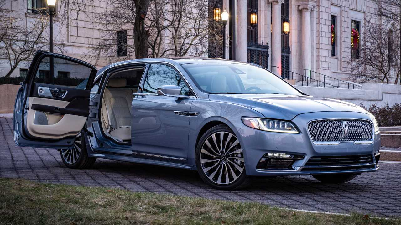 Lincoln Continental Black Label >> Lincoln Continental Coach Door Edition Is Back, Costs $115,470