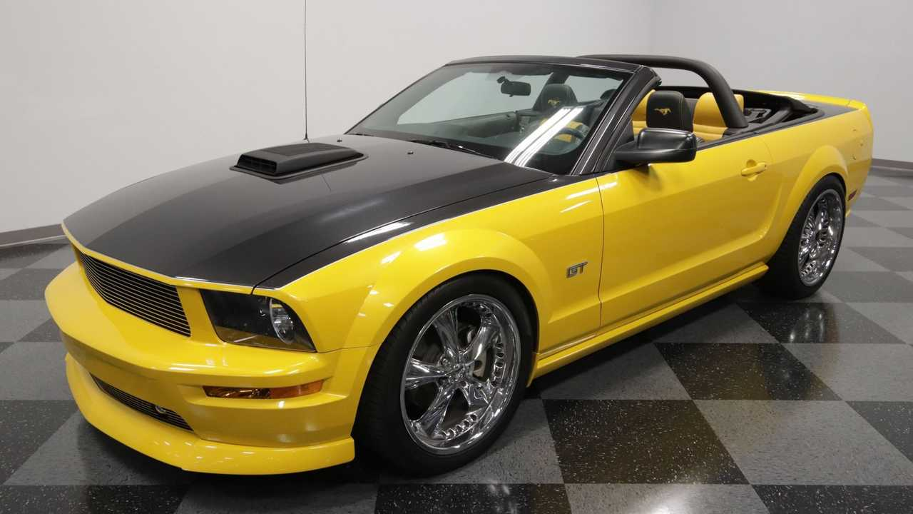 Steal The Show In This 2007 Ford Mustang GT Convertible Regency