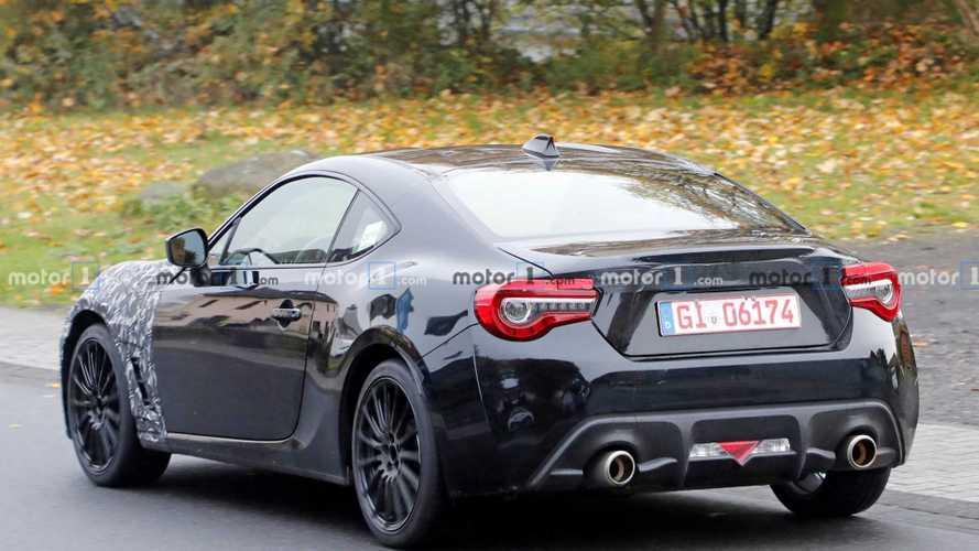 Subaru BRZ Spy Shots