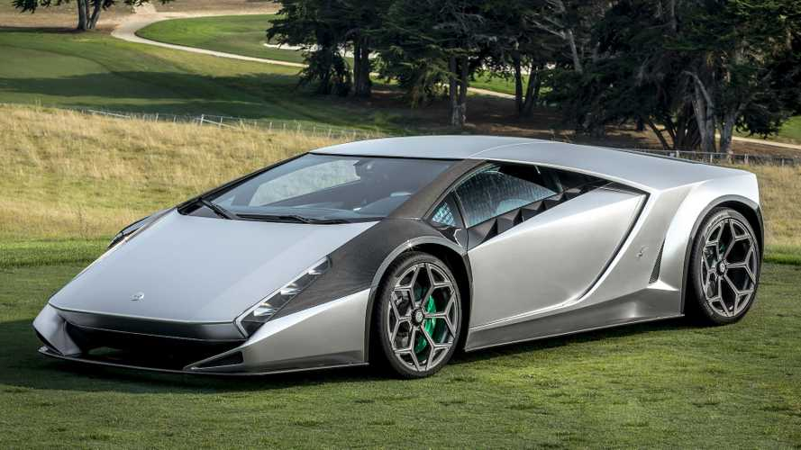 Lamborghini Kode 0 by Ken Okuyama: Supercar Revisited