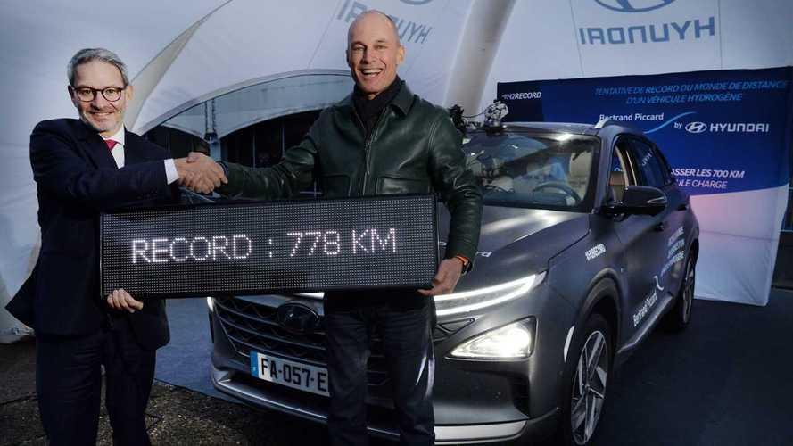 Le Hyundai Nexo parcourt 778 km avec un seul plein d'hydrogène !