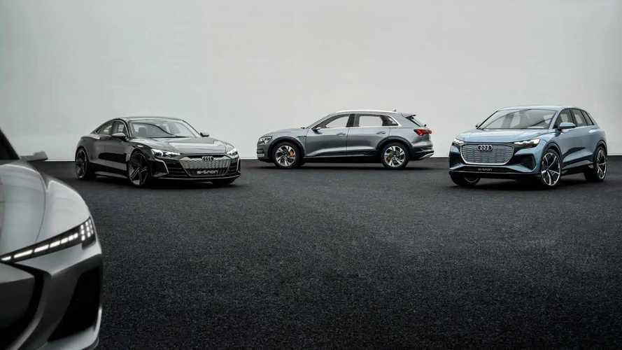 Plateformes électriques d'Audi
