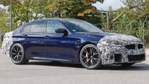 BMW M5 facelift spy shots