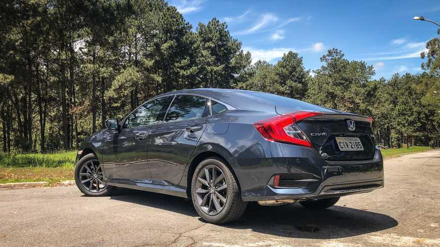 Honda Civic 2020 fica mais caro e versão Touring vai aos R$ 142.200