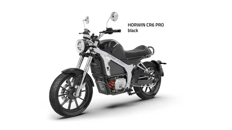 Horwin Launches Electric Motorcycle With Five-Speed Gearbox