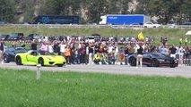 918 spyder chiron veyron 720s drag