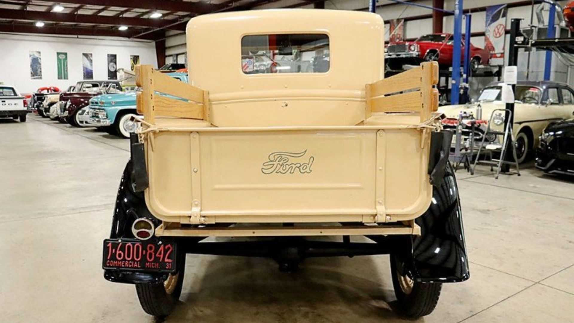 "[""Own A 1931 Ford Model A Pickup For Well Under $20K""]"