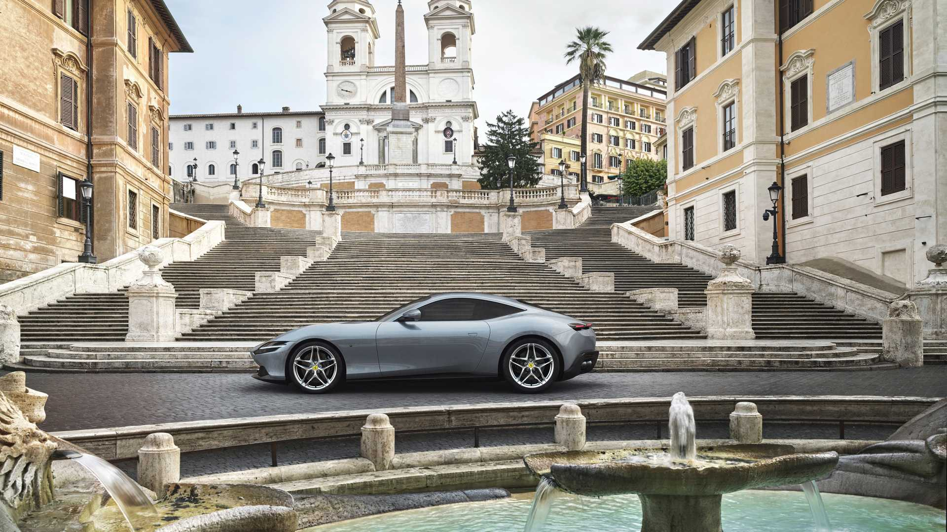 Ferrari Roma Debuts As Retro Inspired 612 Hp Dream