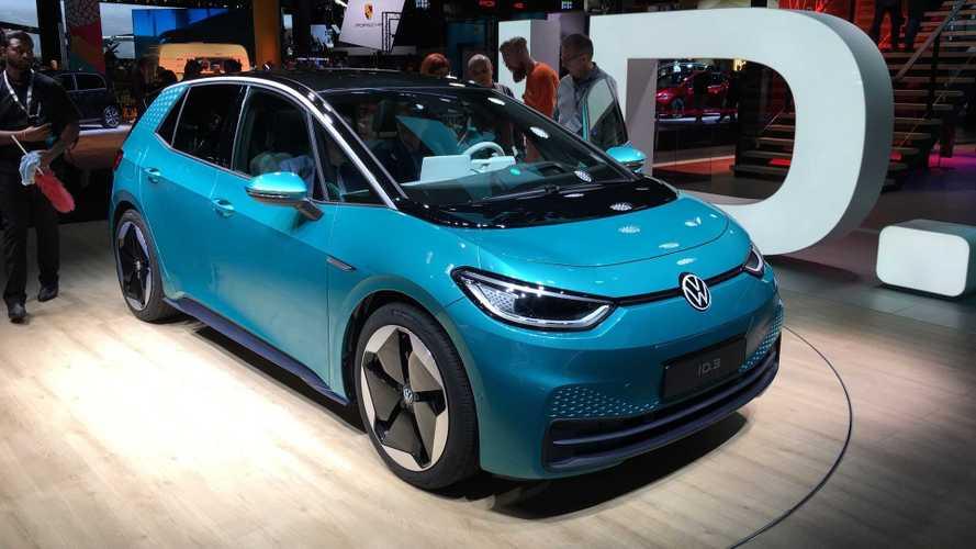 Представлен первый серийный электромобиль Volkswagen