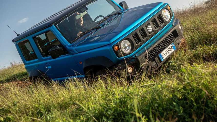 Suzuki Jimny, 3 video tutorial per usarlo in fuori strada al 100%