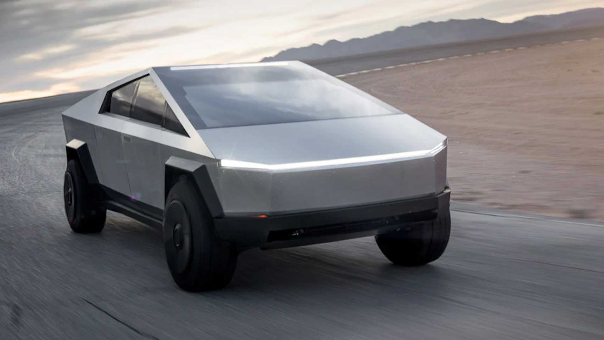 Tesla Cybertruck - cover