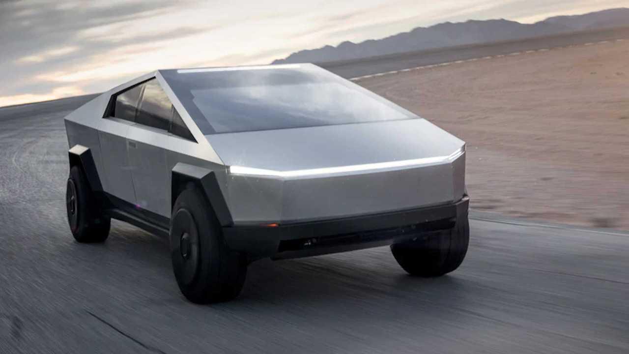 Наружное изображение Tesla Cybertruck