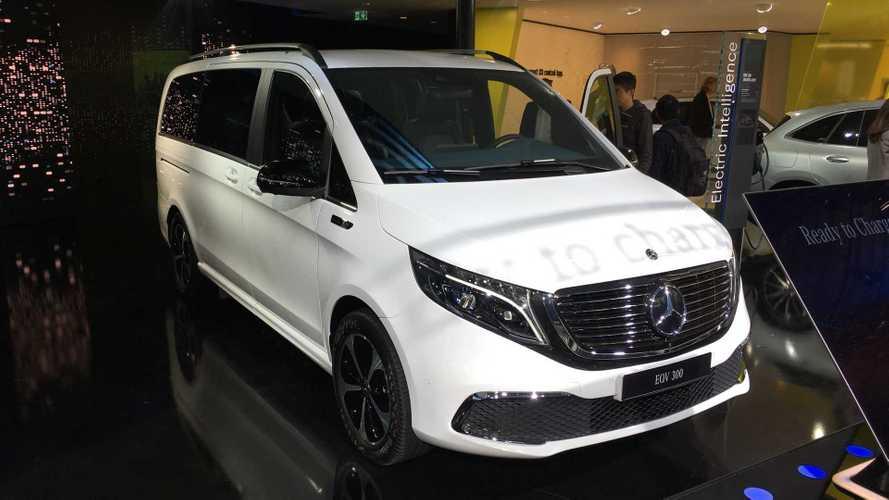 Mercedes-Benz представил первый в мире премиальный электровэн
