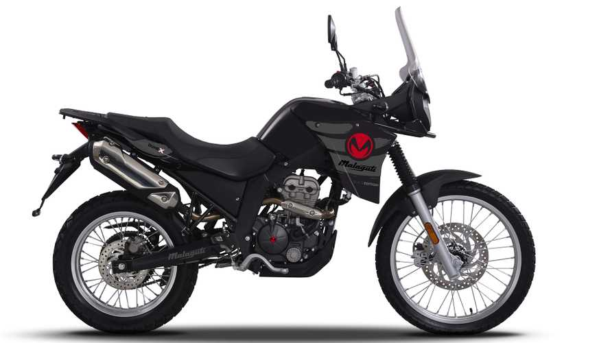Malaguti DUNEX125 Black Edition, la off-road in limited edition