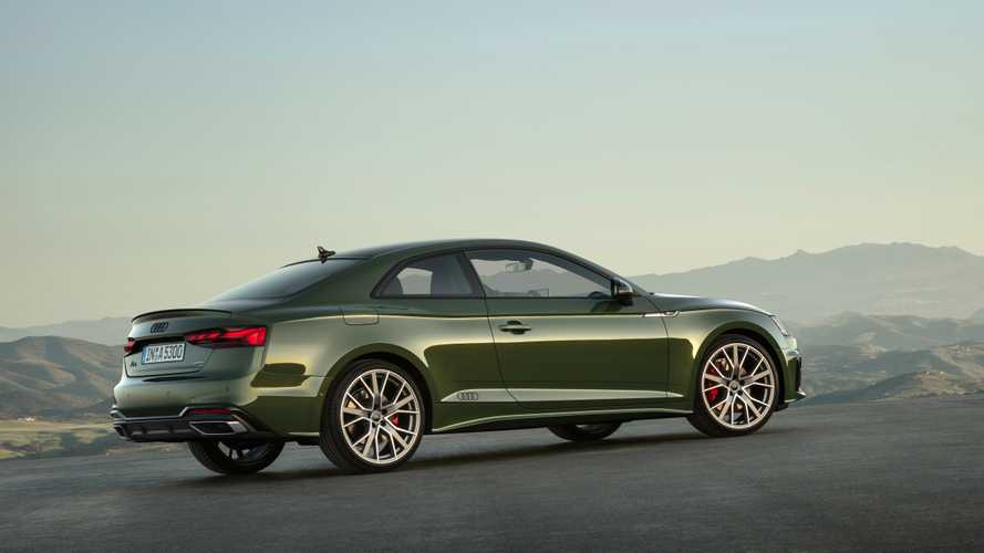 Audi A5/S5 coupé restyling (2019)