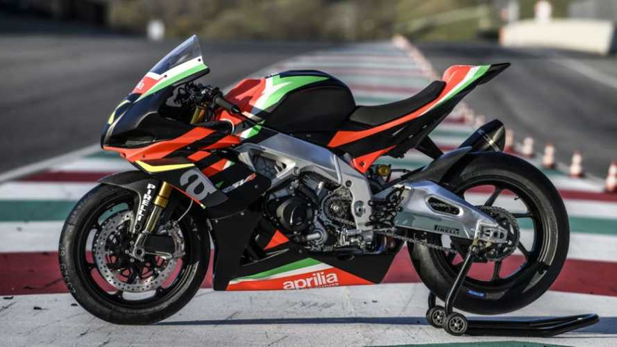 The Aprilla RSV4 X Begins Super Limited Production
