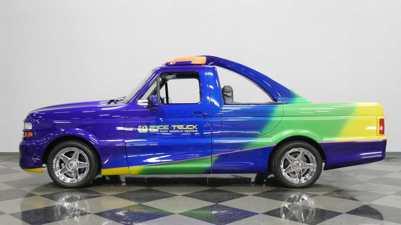 Own A Piece Of Indy Car History With This Ford F-150 PPG Pace Truck