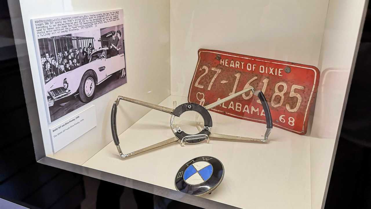 La BMW 507 d'Elvis Presley