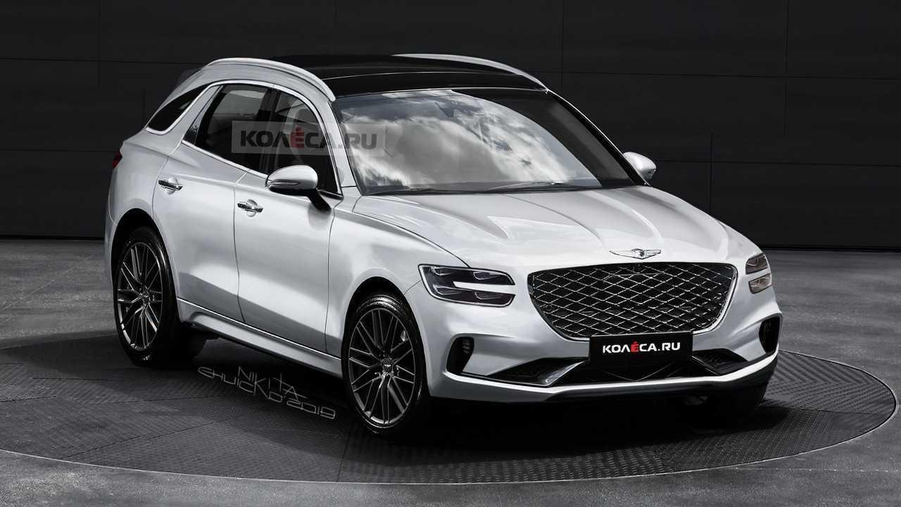 2021 Genesis GV70 rendering