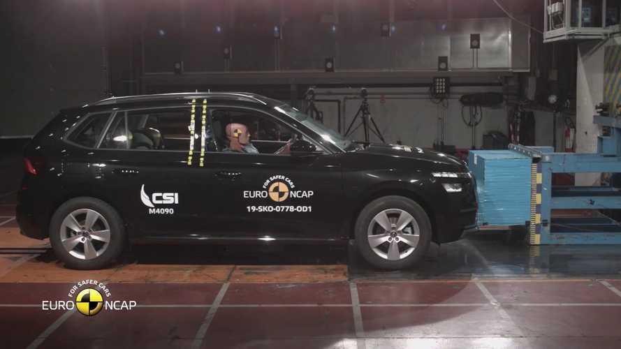 В Euro NCAP показали сильные стороны семи новых автомобилей