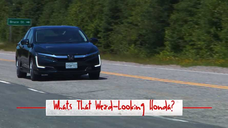 What's That Weird-Looking Honda? A Clarity PHEV, Of Course